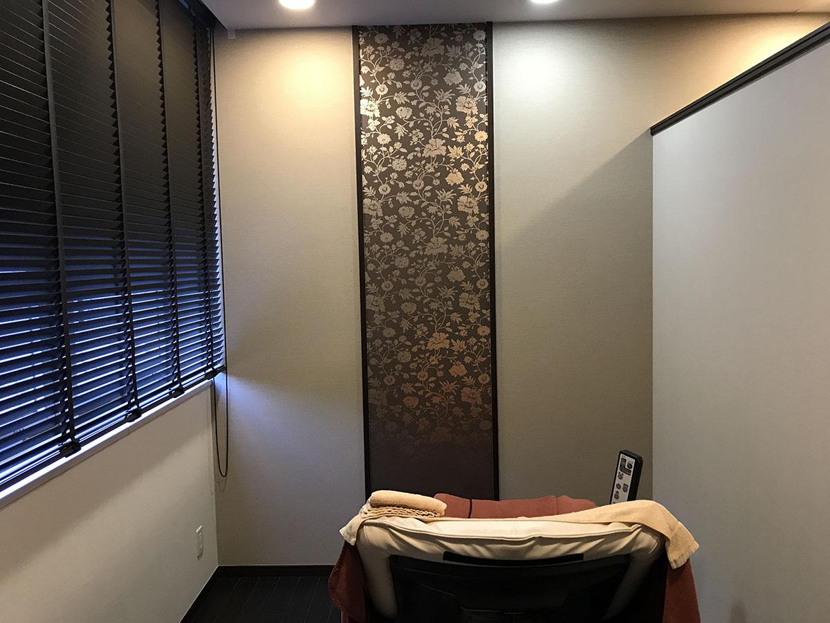 エステサロンの施術室