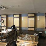 フィットネスジムのミラー・鏡工事 | 芦屋・神戸・西宮 | ショップデザイン