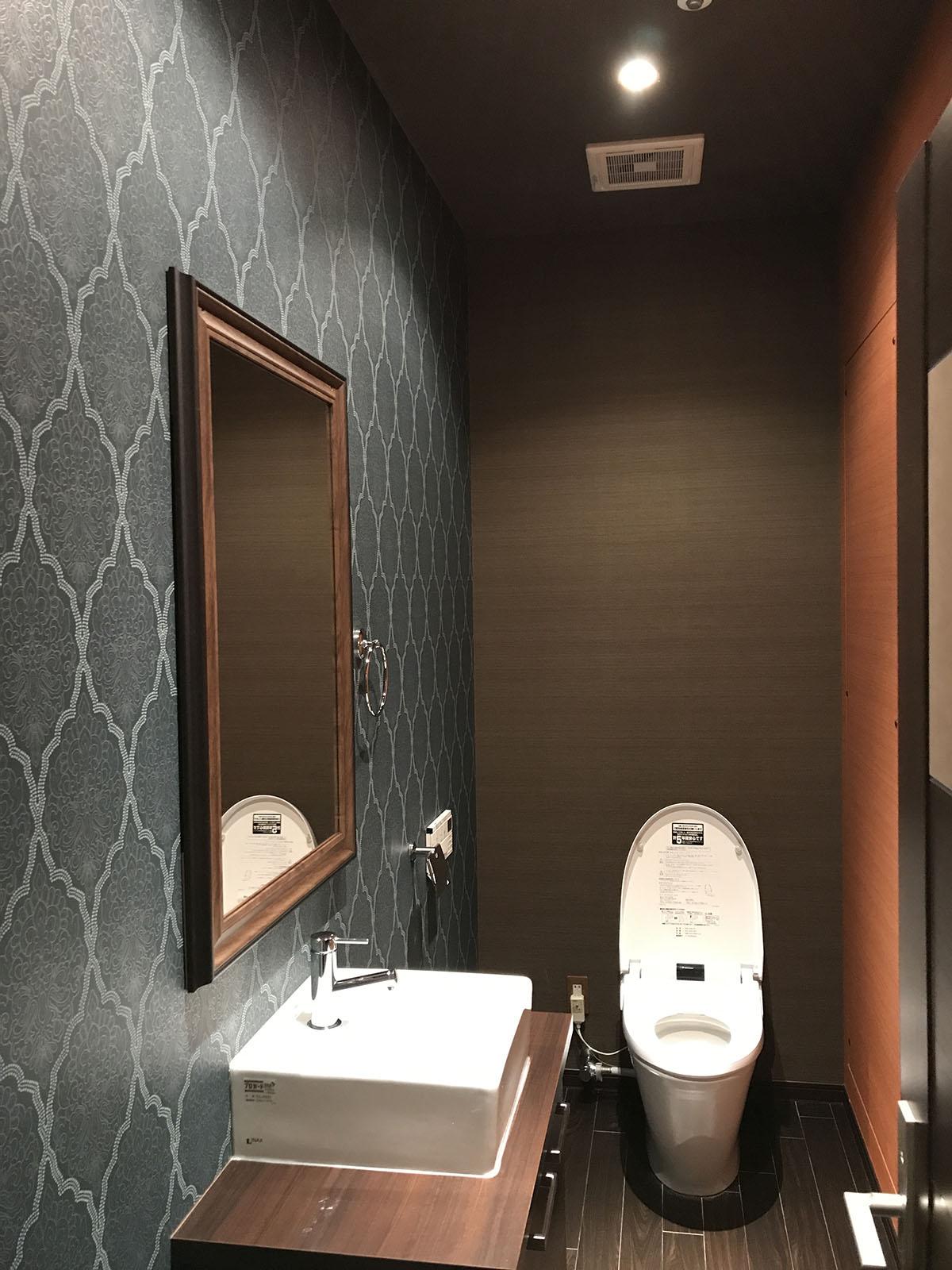 堺市のエステサロントイレ