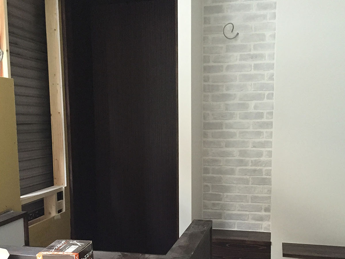 大阪梅田の美容室のクローゼット