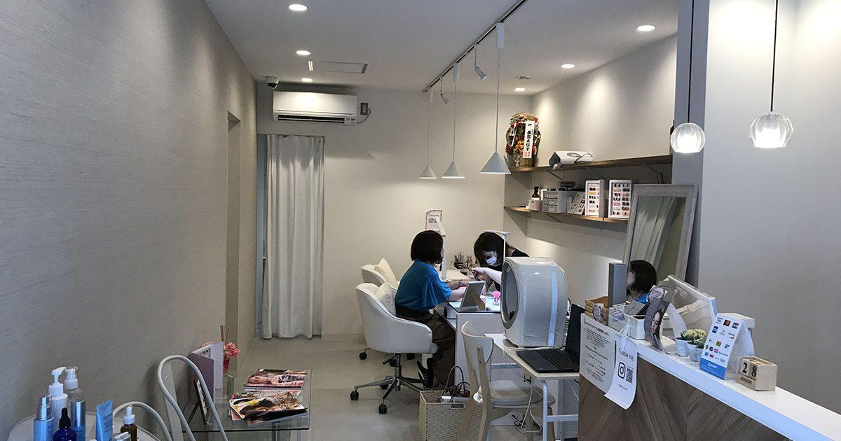 兵庫県三田市の美容室の店舗デザイン・改装工事