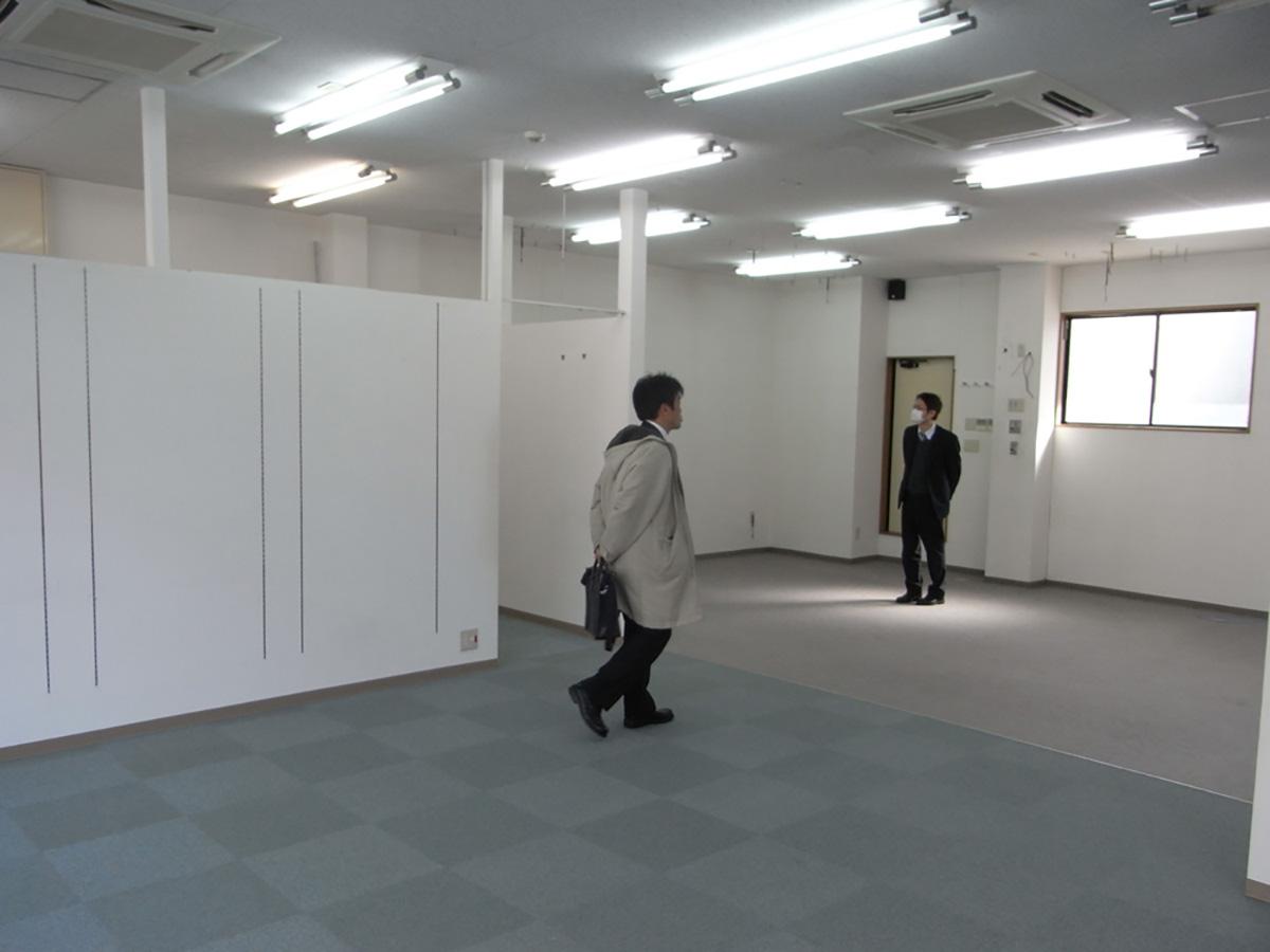 和泉中央の美容室の設備の現地調査