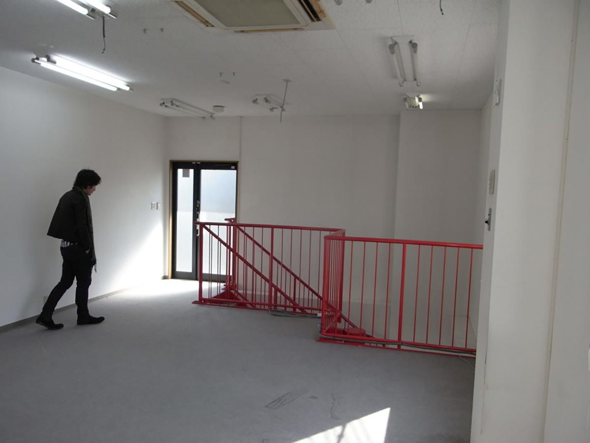 和泉中央の美容室の2階部分の現地調査