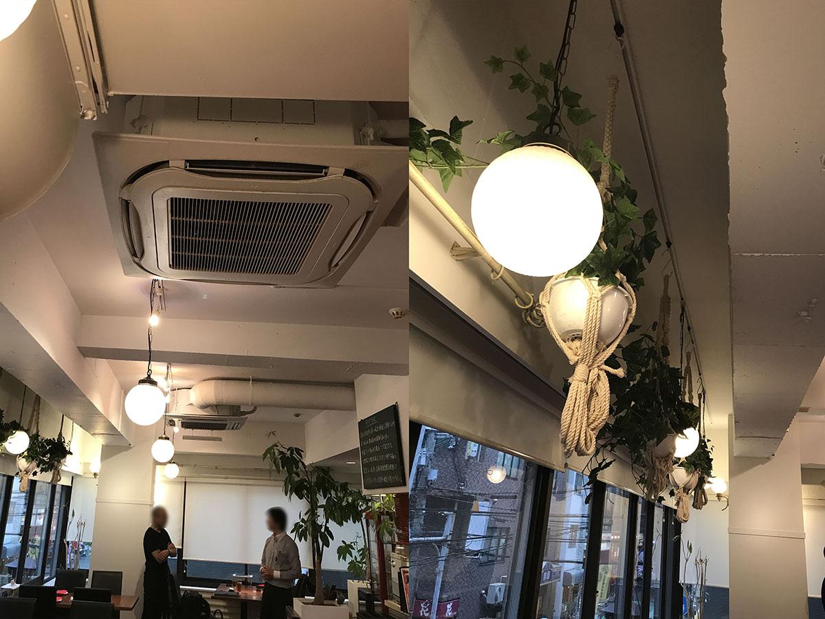 神戸元町のイタリアンレストランの改修工事
