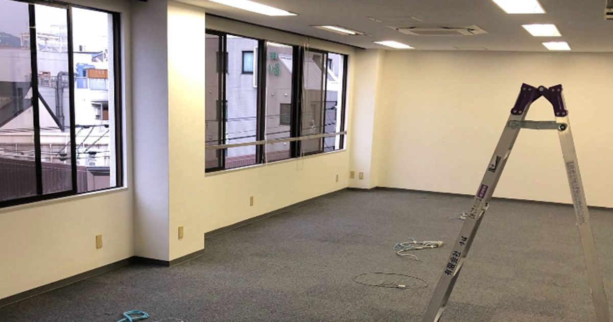 高槻市のエステサロンの現地調査・店舗デザイン・内装工事