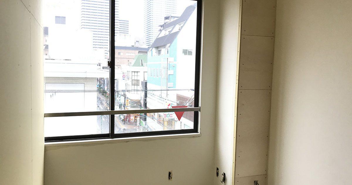エステサロンの施術室の店舗デザイン・店舗設計・内装工事・改装工事