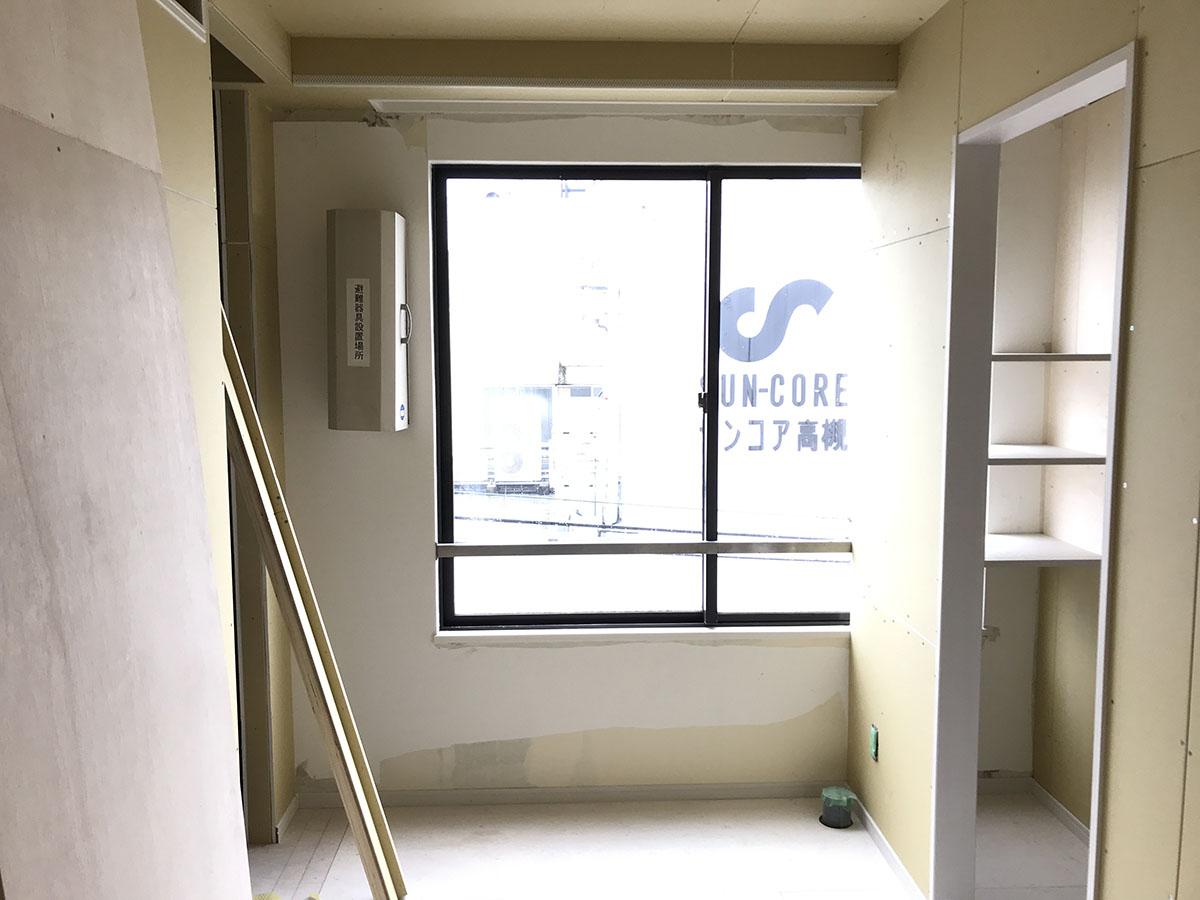 エステサロンのロッカールームの店舗デザイン・店舗設計・内装工事・改装工事
