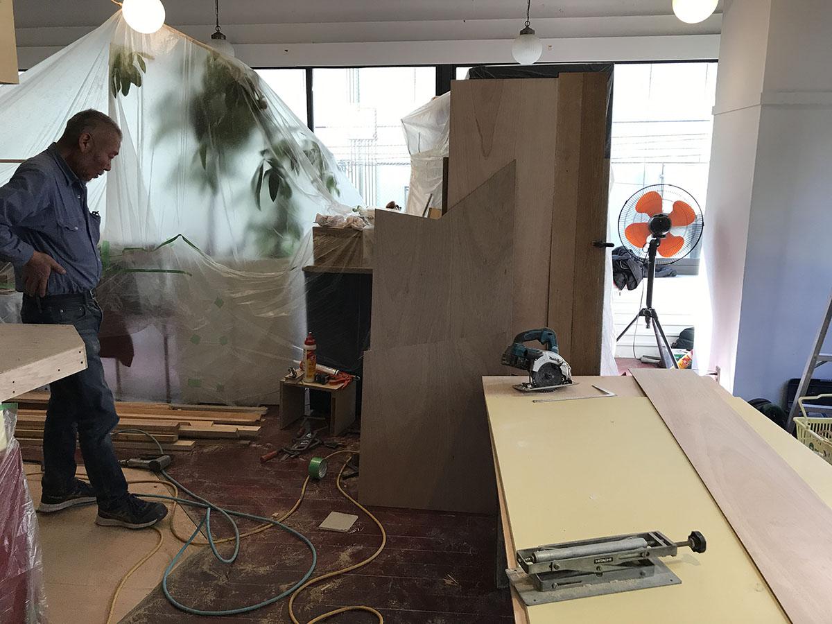 神戸元町の飲食店・レストラン・カフェのリニューアル工事