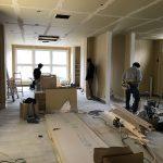 間仕切・家具工事|美容室のお店の設計・デザイン・内装工事|三木市