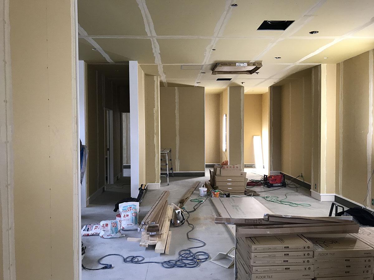 三木市の美容室・理容室で家具工事