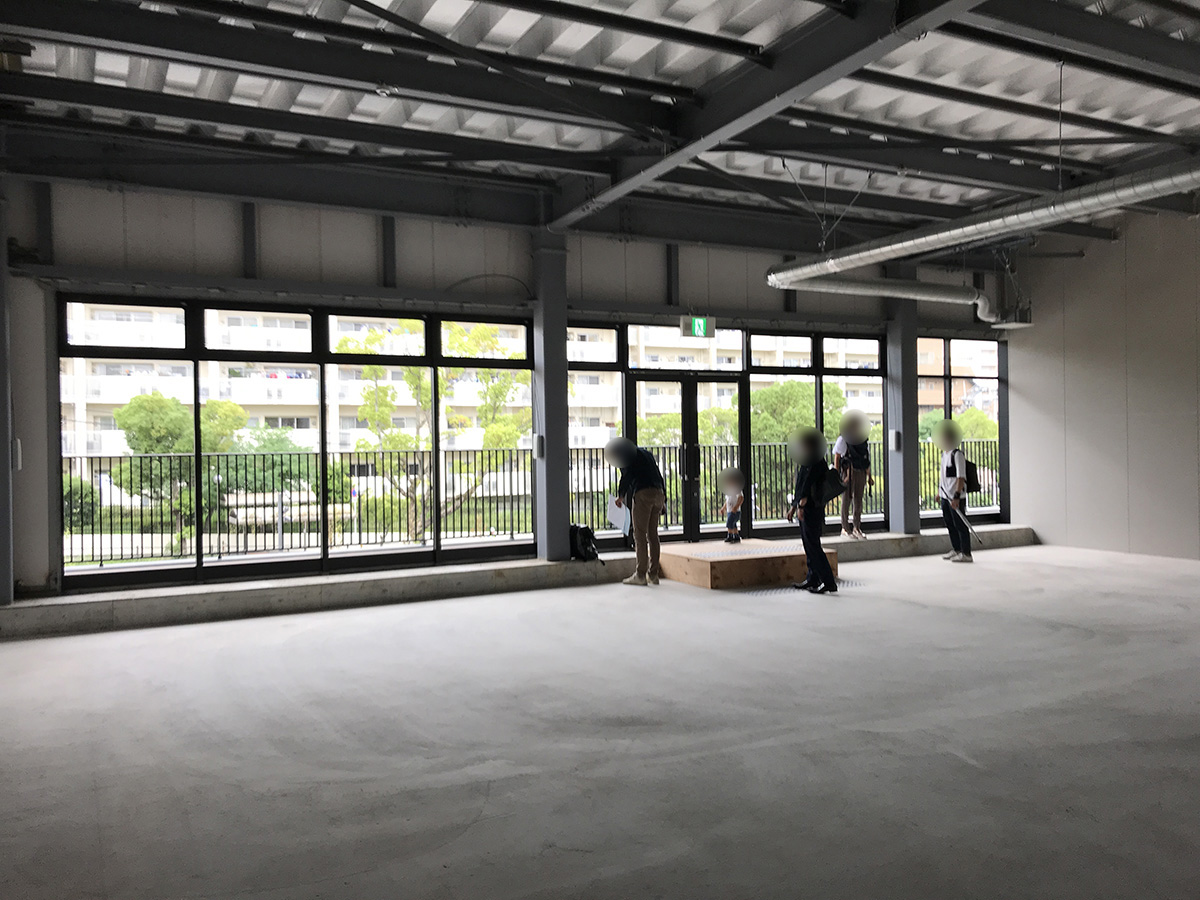 吹田市動物病院の現在の店内・テナント内の内装の状態